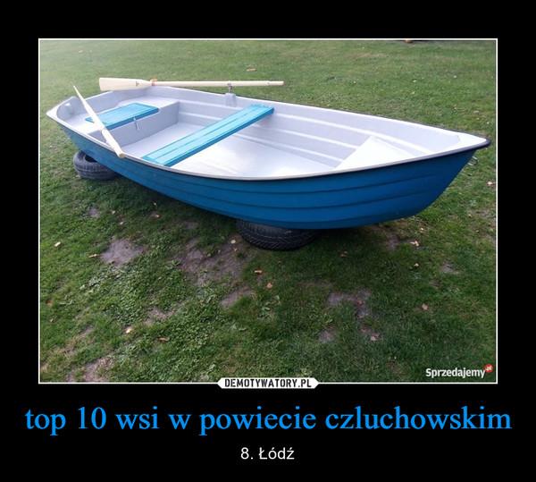 top 10 wsi w powiecie czluchowskim – 8. Łódź