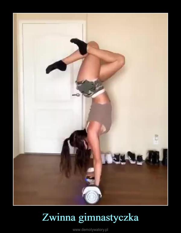 Zwinna gimnastyczka –