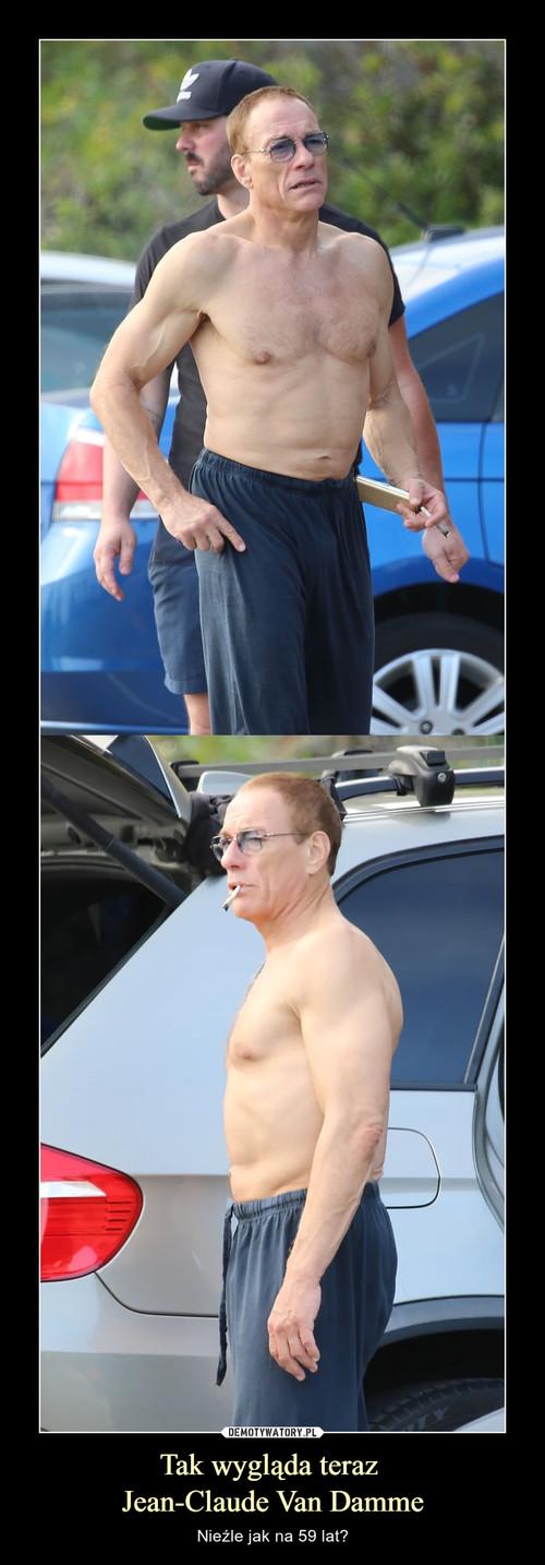 Tak wygląda teraz  Jean-Claude Van Damme
