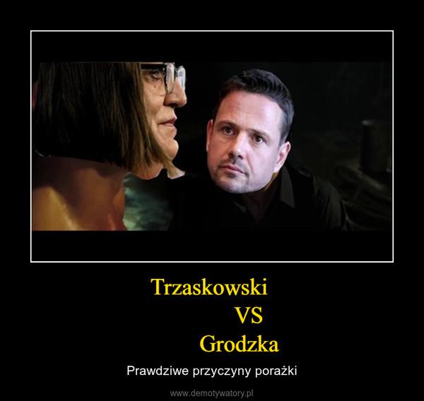 Trzaskowski              VS          Grodzka – Prawdziwe przyczyny porażki