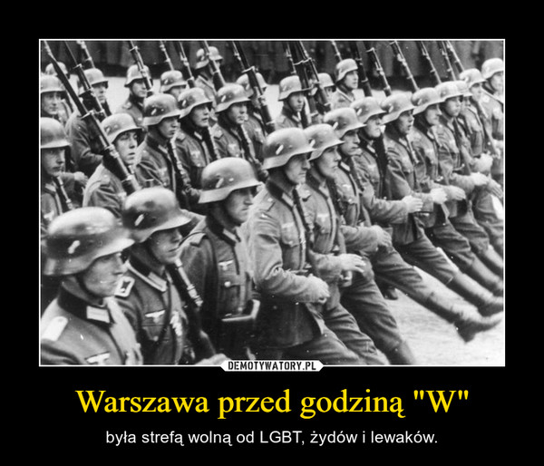 """Warszawa przed godziną """"W"""""""