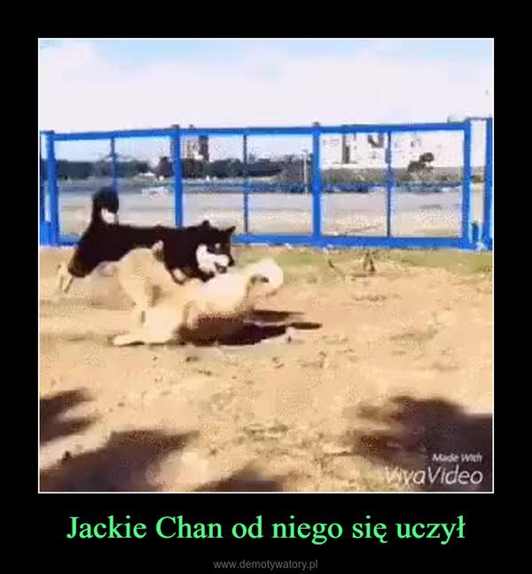 Jackie Chan od niego się uczył –
