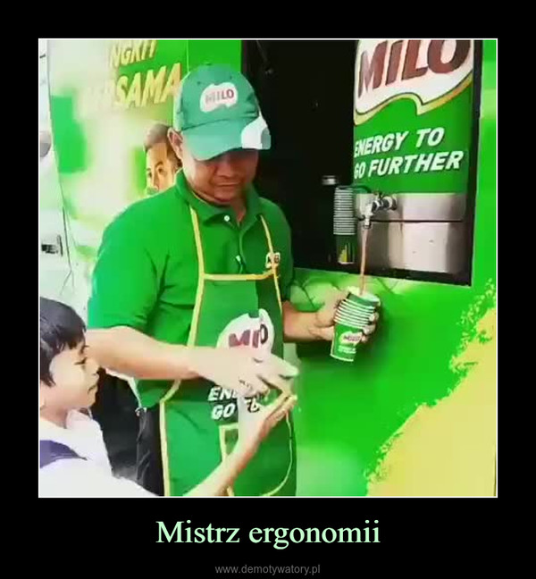 Mistrz ergonomii –