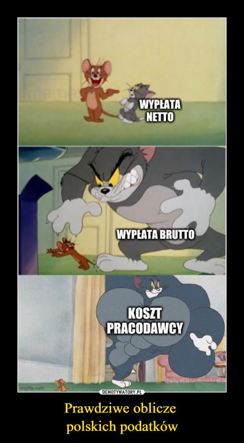 Prawdziwe oblicze  polskich podatków