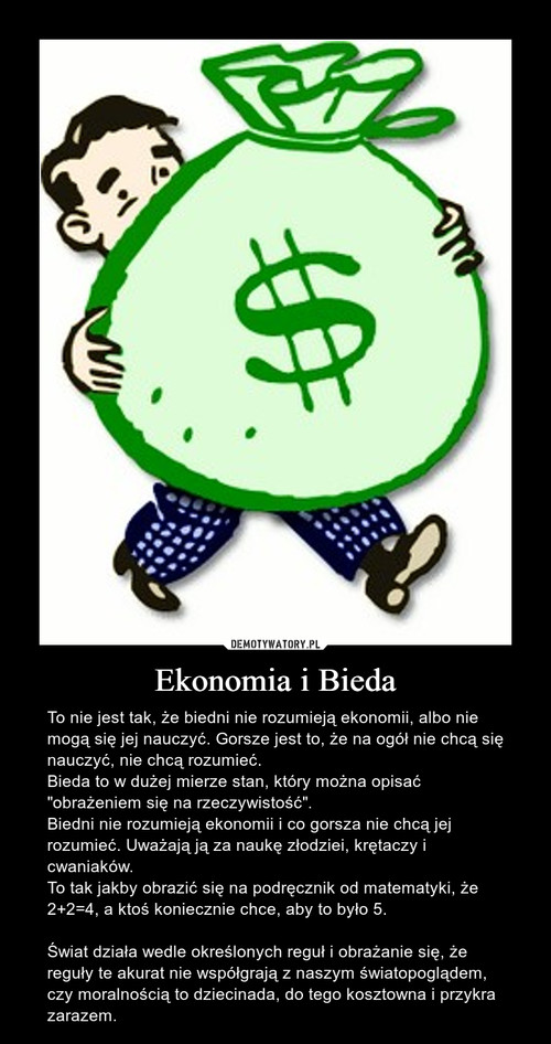 Ekonomia i Bieda