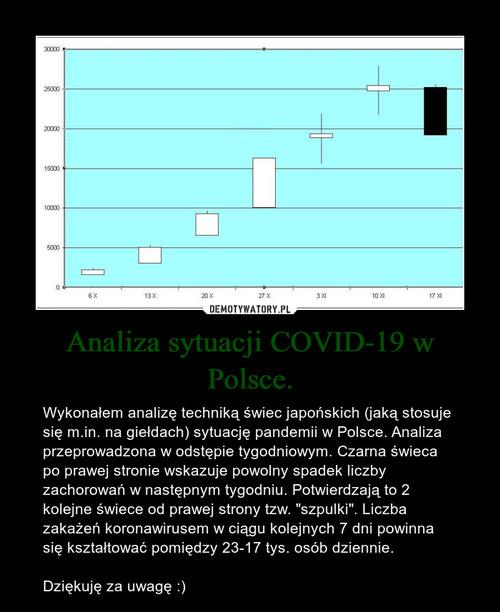 Analiza sytuacji COVID-19 w Polsce.