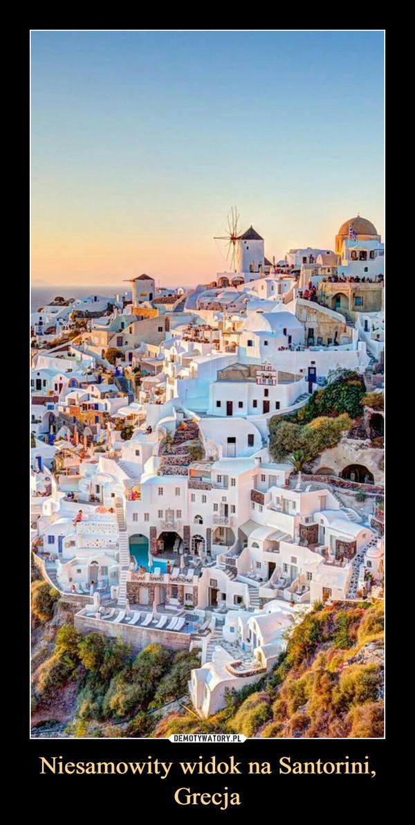 Niesamowity widok na Santorini, Grecja –