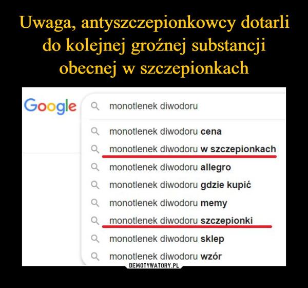 –  Google 4 monotlenek diwodoru Cl monotlenek diwodoru cena O. monotlenek diwodoru w szczepionkach O. monotlenek diwodoru allegro g monotlenek diwodoru gdzie kupić • monotlenek diwodoru memy ą  monotlenek diwodoru szczepionki  • monotlenek ~odoru sklep monotlenek diwodoru wzór