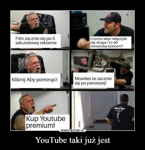 YouTube taki już jest