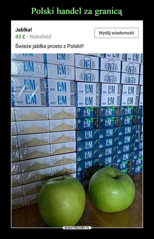 Polski handel za granicą