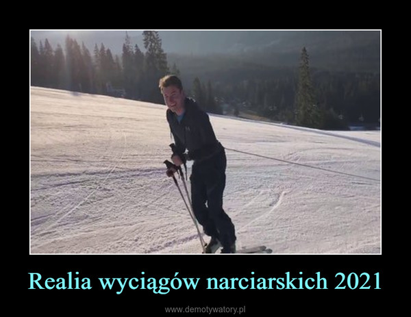 Realia wyciągów narciarskich 2021 –