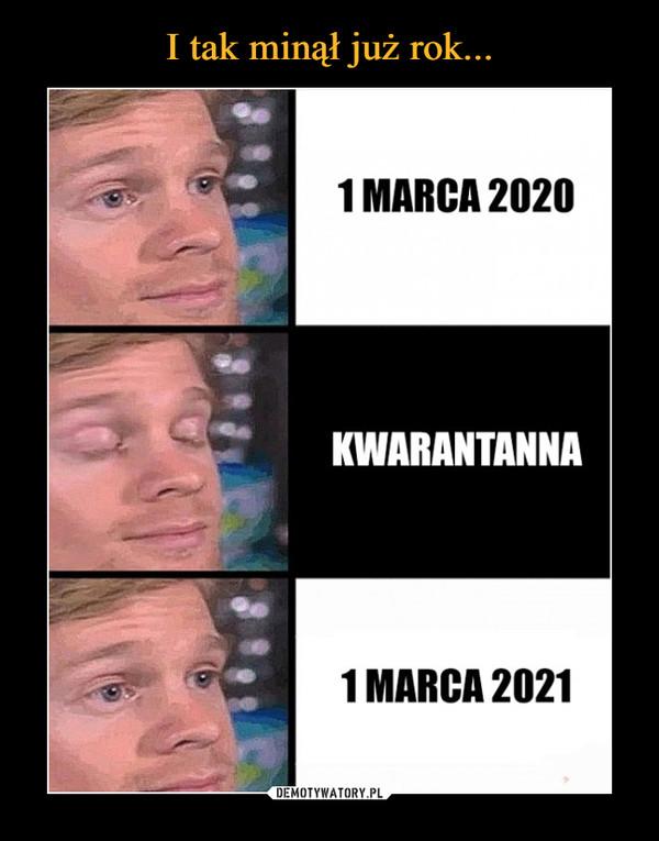 –  1 MARCA 2020KWARANTANNA1 MARCA 2021