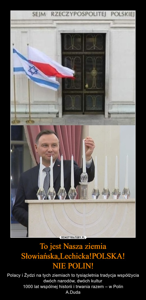 To jest Nasza ziemia Słowiańska,Lechicka!POLSKA! NIE POLIN!