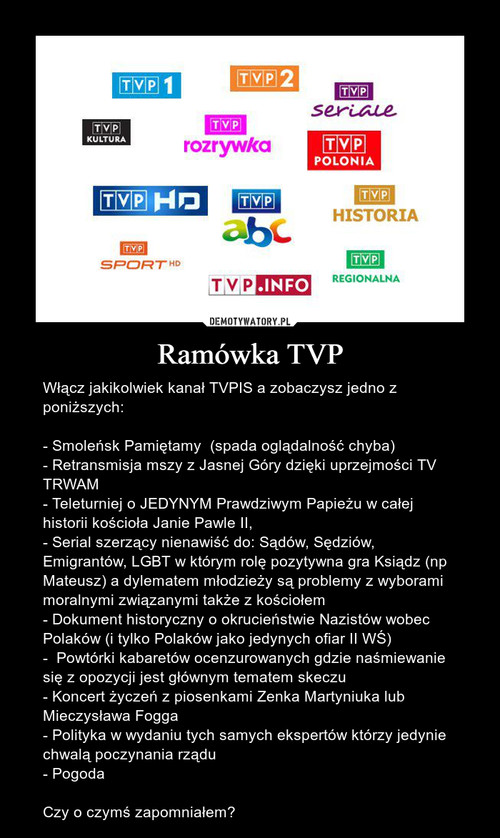 Ramówka TVP