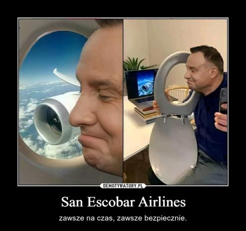San Escobar Airlines