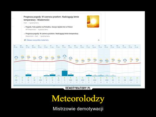 Meteorolodzy