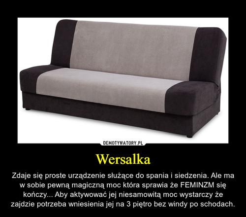 Wersalka